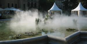umidificare cu vapori de apa