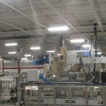 umidificare racire industriala